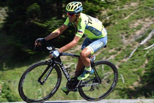 El ciclista española Alberto Contador