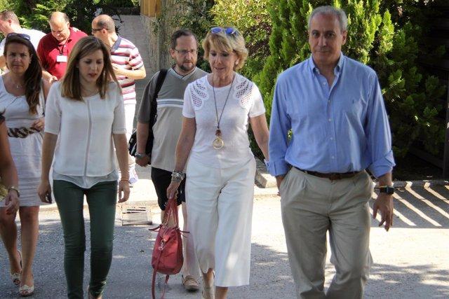 Aguirre en la inauguración del campus de NNGG