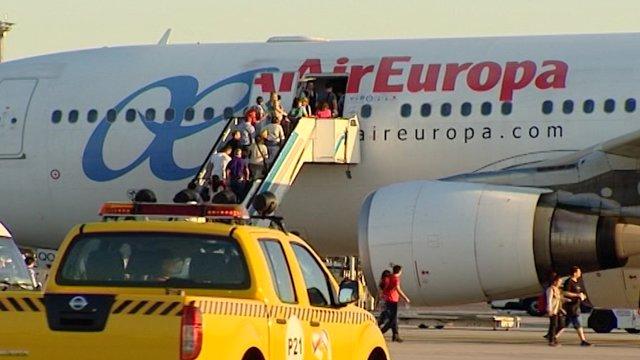 Air Europa prevé huelga a finales de julio
