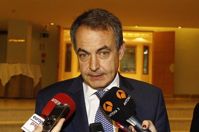 José Luis Rodríguez Zapatero en un foro