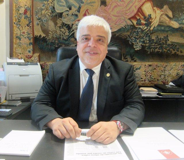El decano del Colegio de la Abogacía de Barcelona (Icab), Oriol Rusca