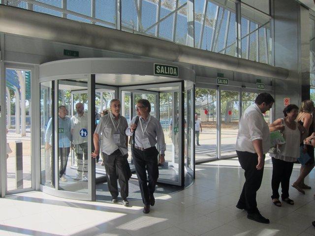 Artur Mas llega a la segunda jornada del congreso de la nueva CDC