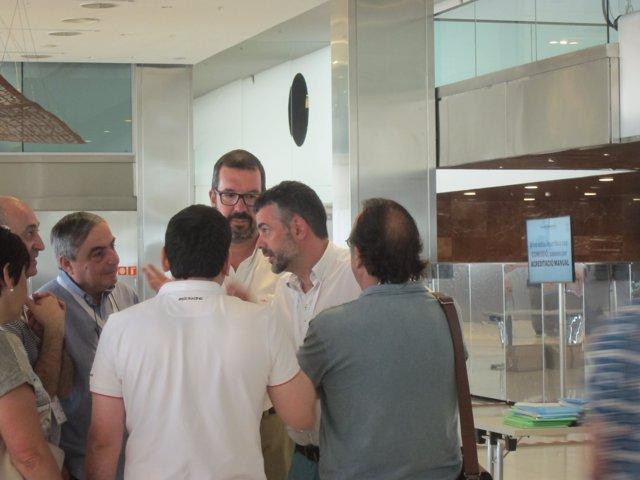 El conseller Santi Vila, en el congreso de la nueva  CDC
