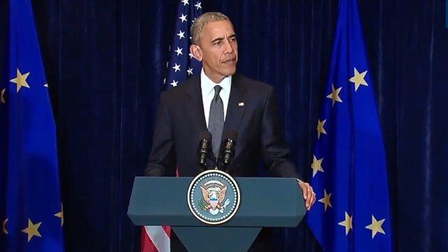 Obama acorta su viaje a España por el tiroteo de Dallas