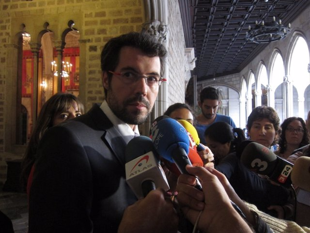 El alcalde de la Seu d'Urgell, Albert Batalla