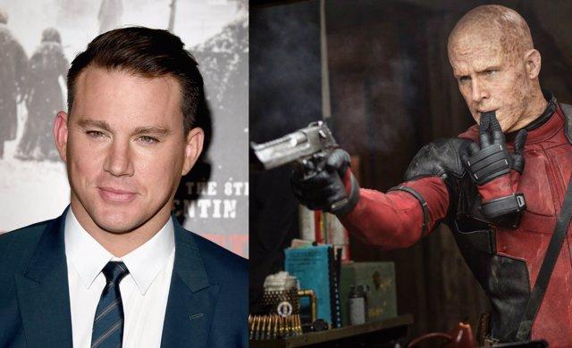 Channing Tatum y Deadpool