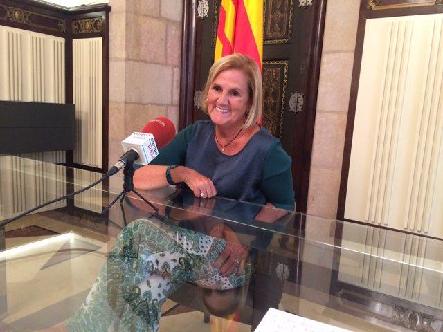 Núria de Gispert, Presidenta del Parlament de Catalunya