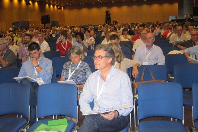 El expresidente de la Generalitat y líder de CDC, Artur Mas