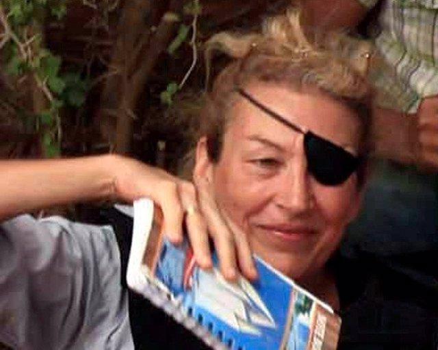 La periodista estadounidense Marie Colvin