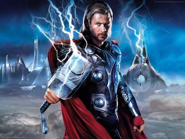 Thor es Chris Hemsworth