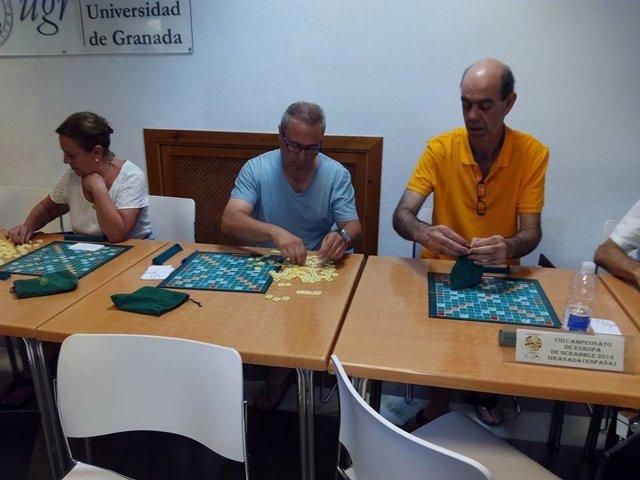 Campeonato de Scrabble celebrado en Granada