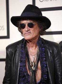 El guitarrista de Aerosmith Joe Perry