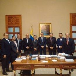 Zapatero se reunió con opositores venezolanos