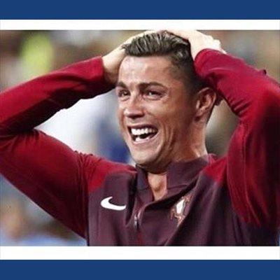 Foto: Cristiano Ronaldo protagoniza los memes de la final de la Eurocopa (TWITTER / GUTY CARRERA )