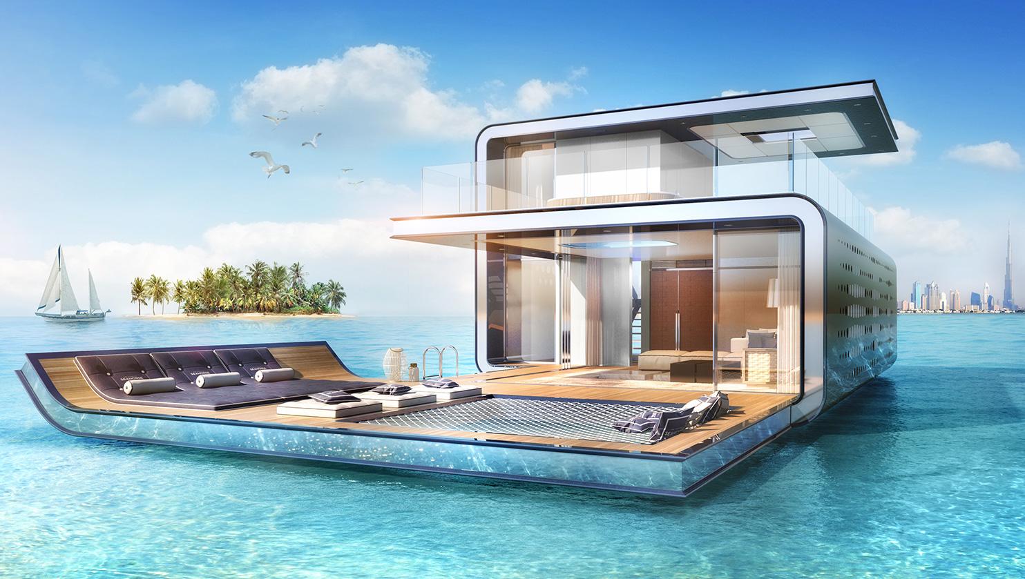 Vivirías en una casa debajo del mar? Esta se construye en Dubai