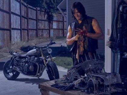 """Norman Reedus (Daryl): """"Con Negan hay un cambio de poder en The Walking Dead"""""""