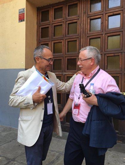 """Fernández Toxo pide abrir un """"proceso reflexivo"""" sobre el futuro de CC.OO."""
