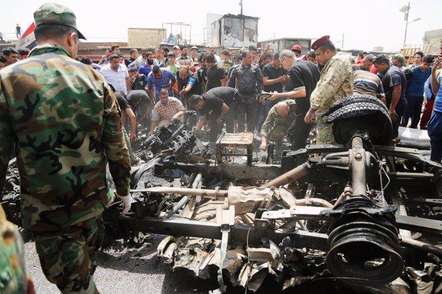 Atentado con coche bomba reivindicado por Estado Islámico en Bagdad