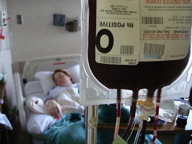 Trasfusión de sangre