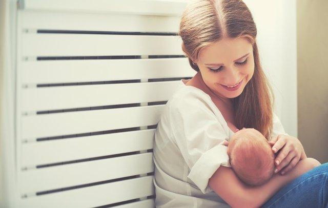 Bebé, madre, lactancia