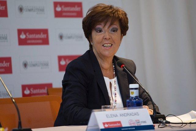 Directora General de Salud Pública, Elena Andradas