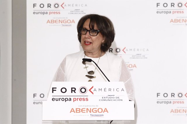 Rebeca Grynspan, secretaria general Iberoamericana, en el Foro América