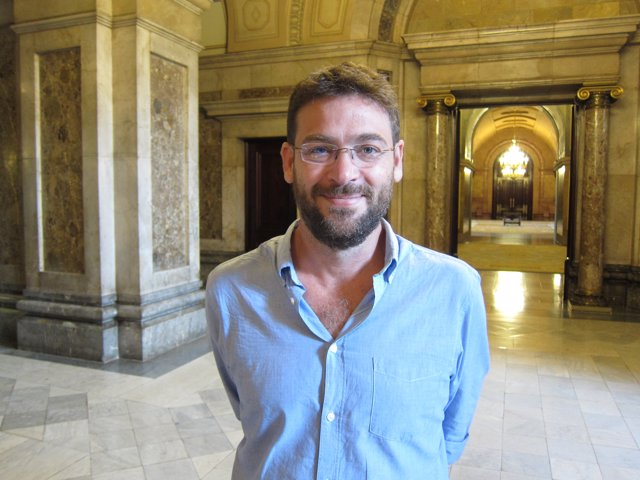 El diputado de SíQueEsPot en el Parlament Albano-Dante Fachin