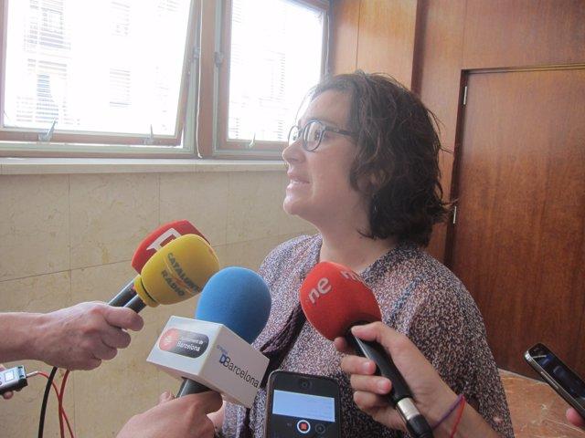 La concejal de Sants-Montjuïc, Laura Pérez