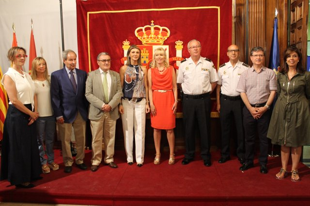 La delegada del Gobierno en Catalunya, Llanos de Luna, en Lleida