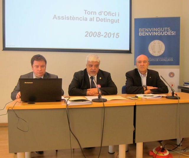 Rueda de prensa de Oriol Rusca (CAC) sobre el Turno de Oficio