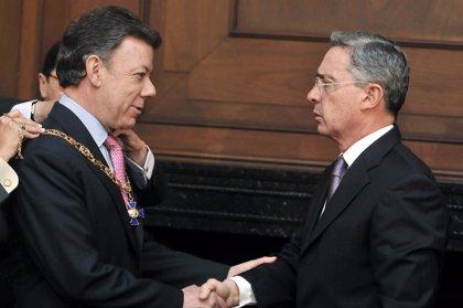Santos invita a Uribe a sumarse al diseño de una Colombia en el posconflicto