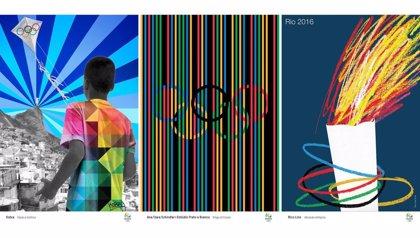 Río 2016 presenta su colección de pósters oficiales creados por 13 artistas