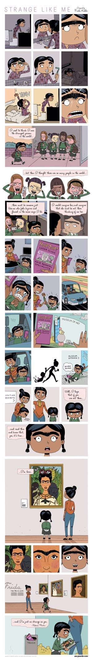 Comic Frida Kahlo