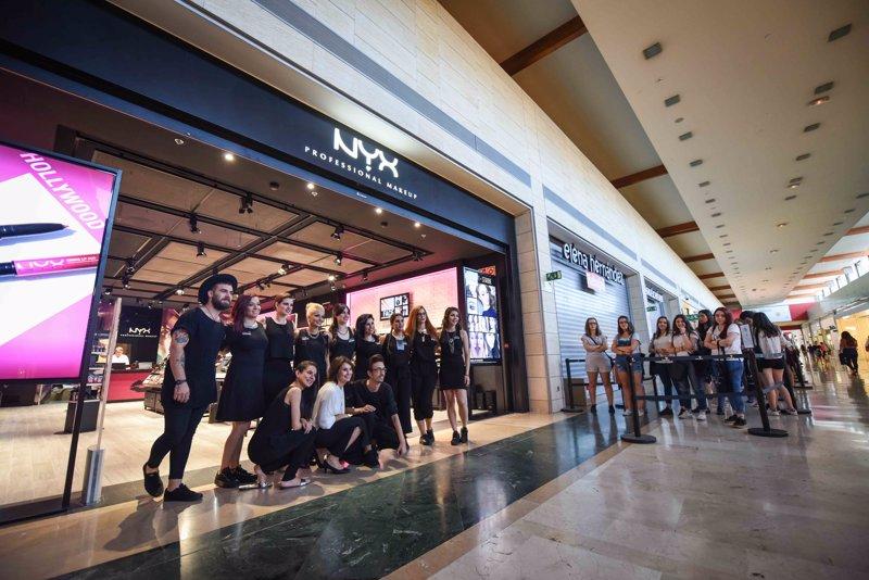 NYX abre en Parquesur su tienda más grande de España 96e5ee6564380