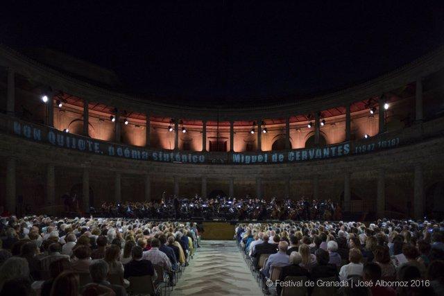 Orquesta y Coro de RTVE en el Festival de Música y Danza de Granada