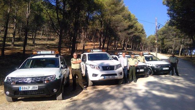 Presentación de nuevos vehículos para agentes de medio ambiente