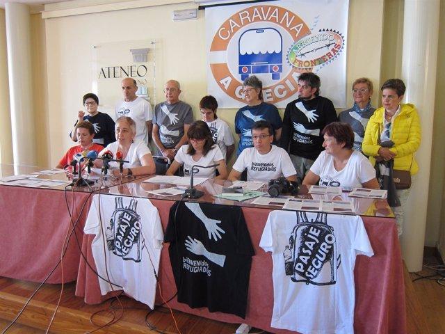 Información sobre la Caravana a Grecia 'Abriendo fronteras'