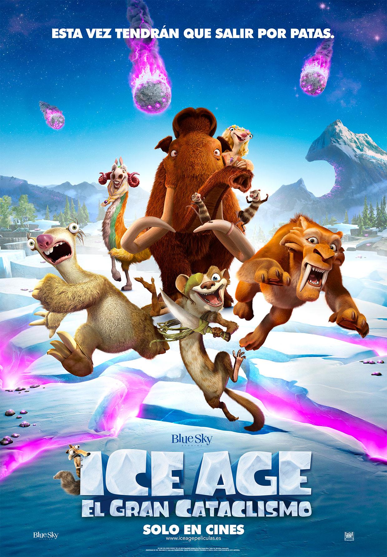 Poster Ice Age: el gran cataclismo