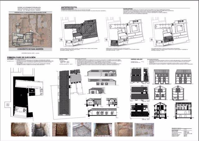 Primera fase rehabilitación del Convento de San Andrés