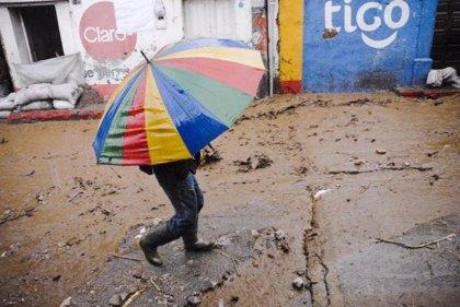 Dos muertos y un gran número de damnificados por las lluvias torrenciales en Guatemala