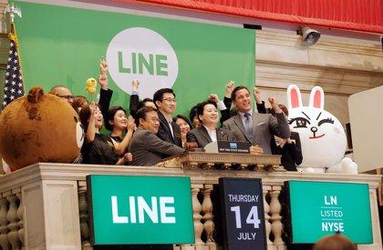 Line sube un 31,6% al cierre de su debut en Tokio