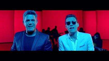 Alejandro Sanz y Marc Anthony, el exitoso dúo sorpresa de la temporada