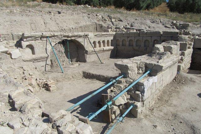 Los nuevos restos recuperados en Torreparedones