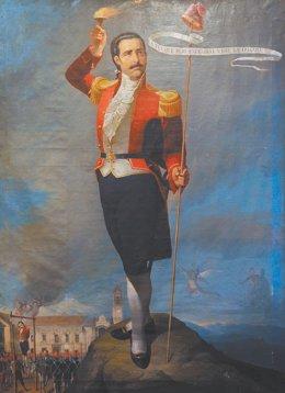 El líder de la Revolución de La Paz, Pedro Murillo