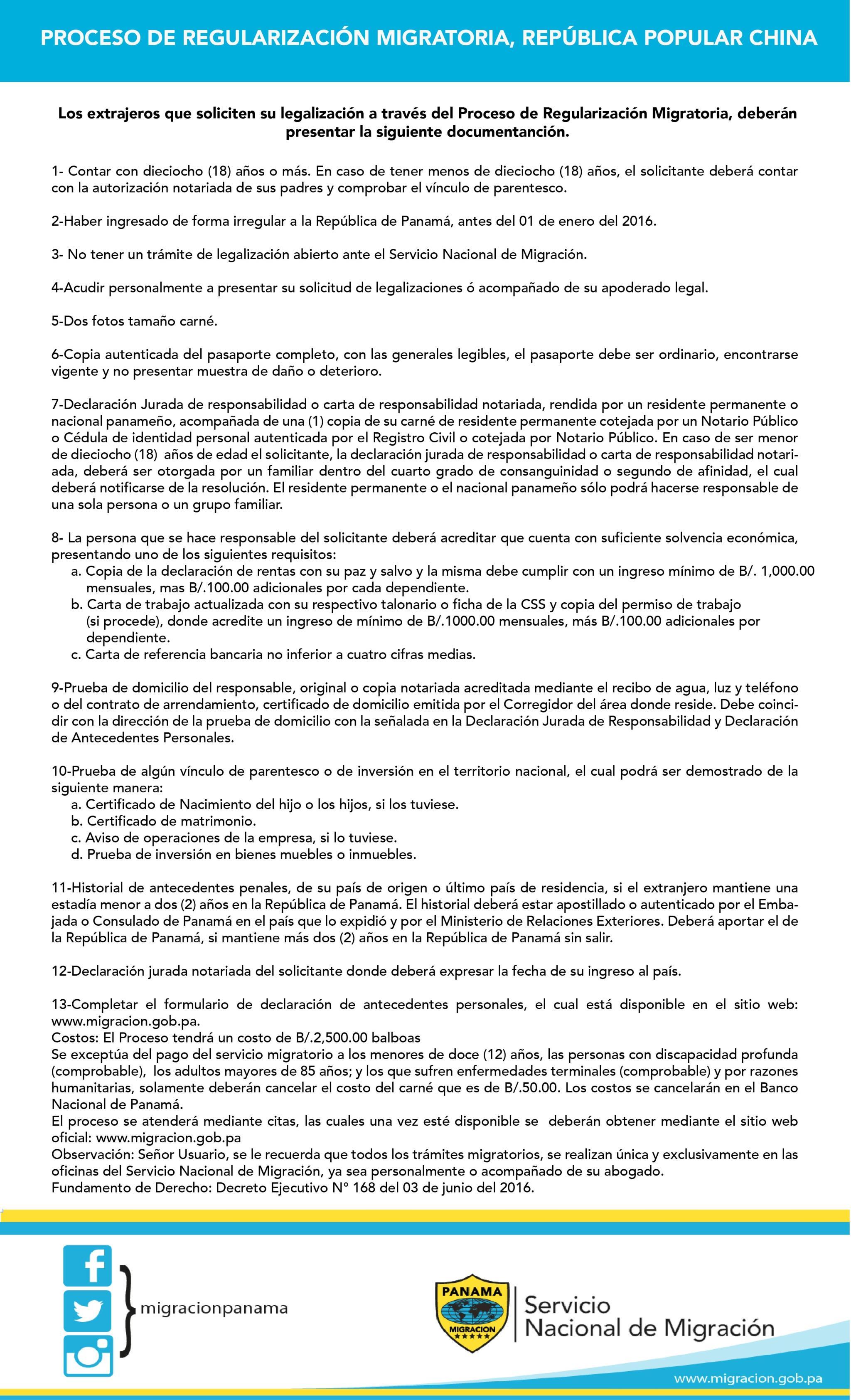 Los trabajadores panameños protestan contra la regularización de los ...