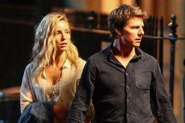 La Momia: Divertidas imágenes del rodaje con Tom Cruise y Annabelle Wallis