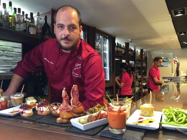 El cocinero Miguel Martínez Losa