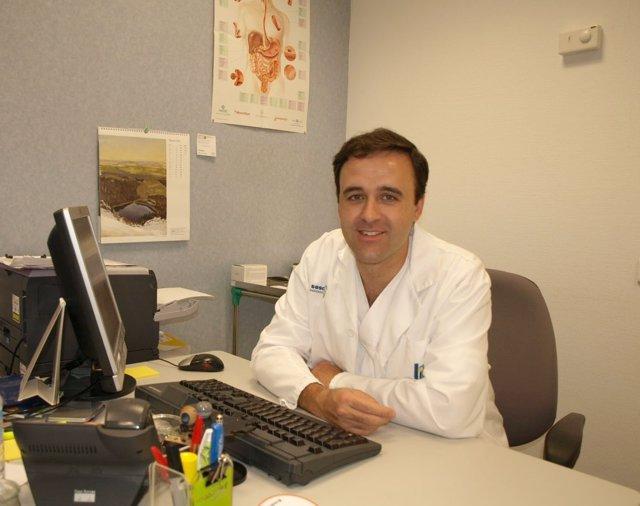 El doctor Alfredo Lucendo