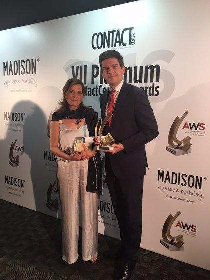 Bansacar (Santander), premiado en los Platinum Contact Center Awards