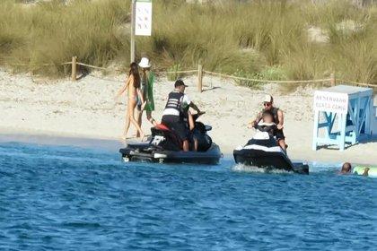 Leo Messi, vacaciones familiares en Ibiza